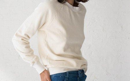 Jungmaven Alpine Raglan - Washed White