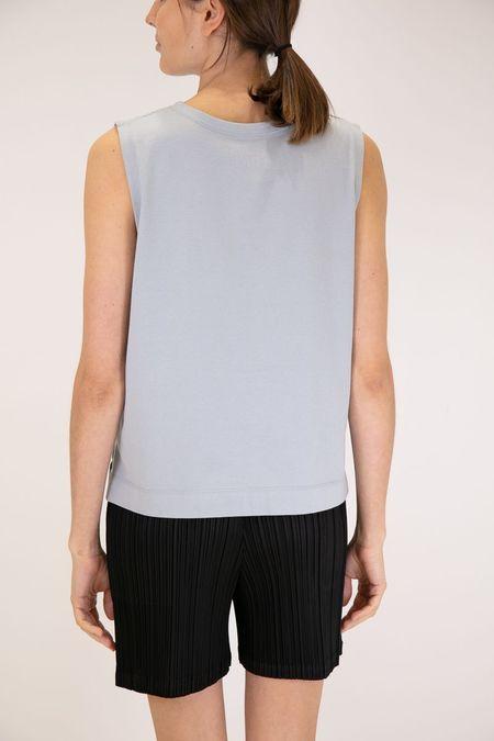 Issey Miyake Pleats Please Easy T Shirt - Slate Blue