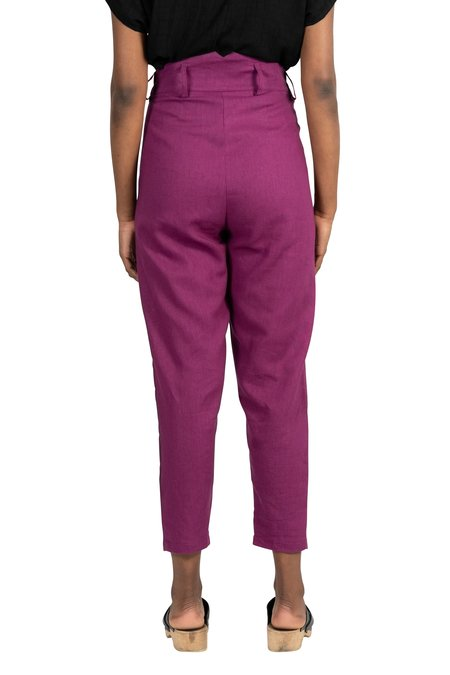 Field Day Perfect Pant - Electric Violet