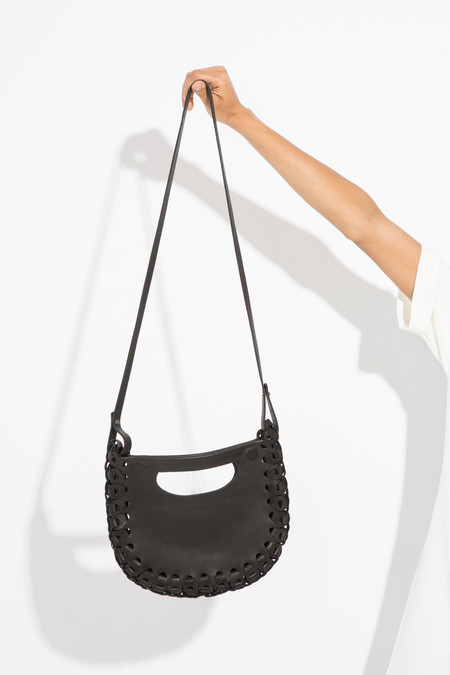 moses nadel Half Moon Bag