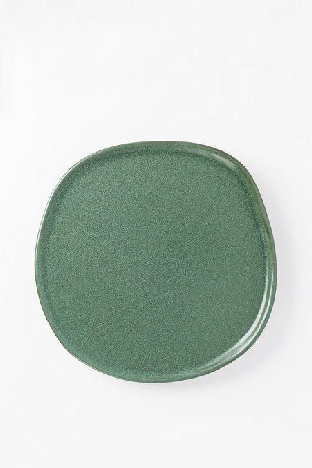 Haand Ripple Dinner Plate - Fern