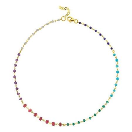 Maisonirem Bead Spectrum Necklace - Multi