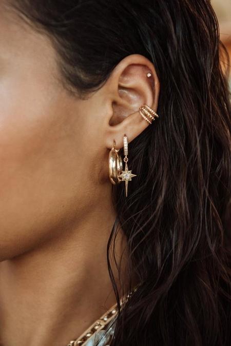 Maisonirem Goldy Donut Earring - Gold