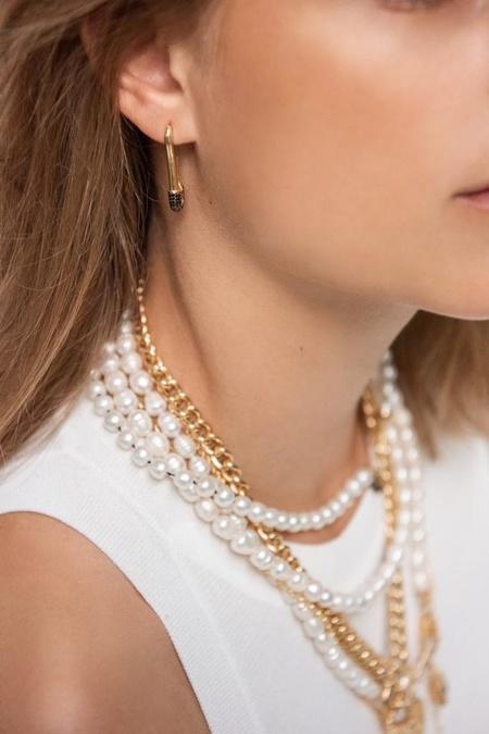Maisonirem Goldy Jazz Earrings - Gold