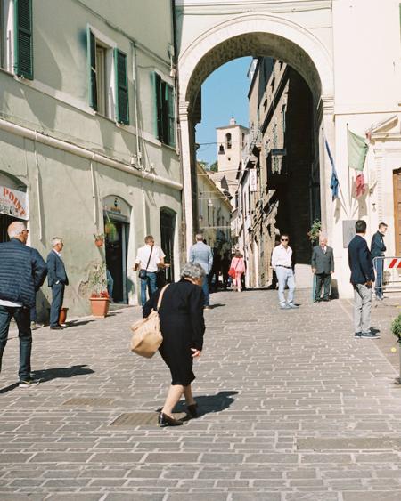 BEFORE MARCH Nonna Heel Abruzzo Italy Print