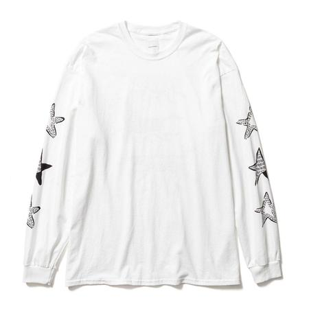 Sasquatchfabrix. Horse Long Sleeve Tee - White
