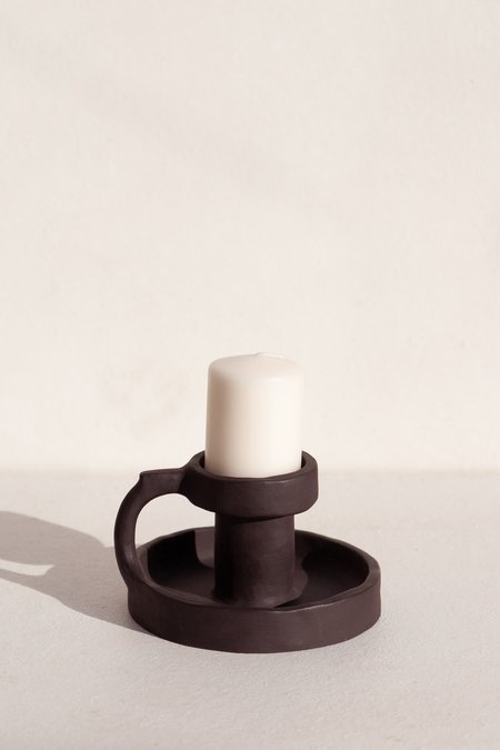 Clae Studio Candle holder - Onyx