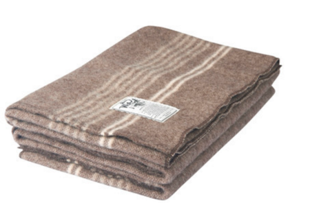 Woolrich Eco-Rich™ Suffolk Stripe 100% Wool Blanket