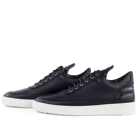 Filling Pieces Low Top Ripple Crumbs Sneaker - Navy Blue