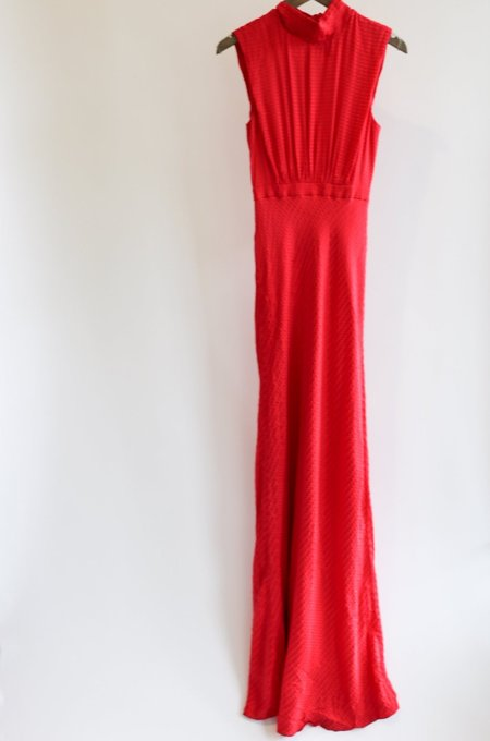 [pre-loved] Saloni Gown - Red