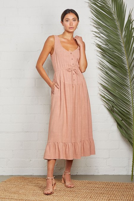 Rachel Pally Linen Meadow Dress - Earth