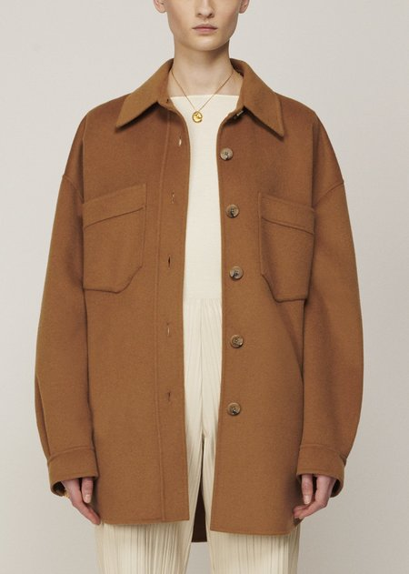 Nanushka Martin Coat - Light Brown