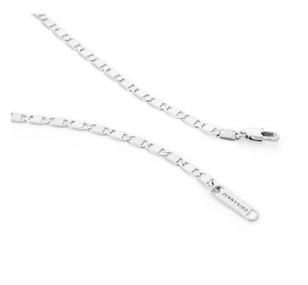 Pattino Shoe Boutique Jenny Bird Bobbi Chain Necklace - Silver