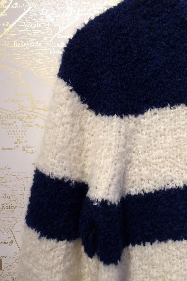Jenni Kayne Striped Boucle Cashmere Sweater
