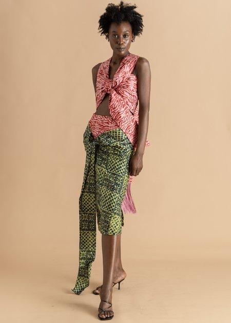 Abiola Olusola Adire Skirt - Mix Print