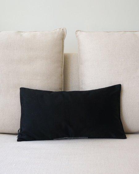 VOZ Condor Lumbar Pillow - Black/Ivory