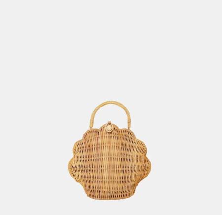 Olli Ella Shell Basket - Natural