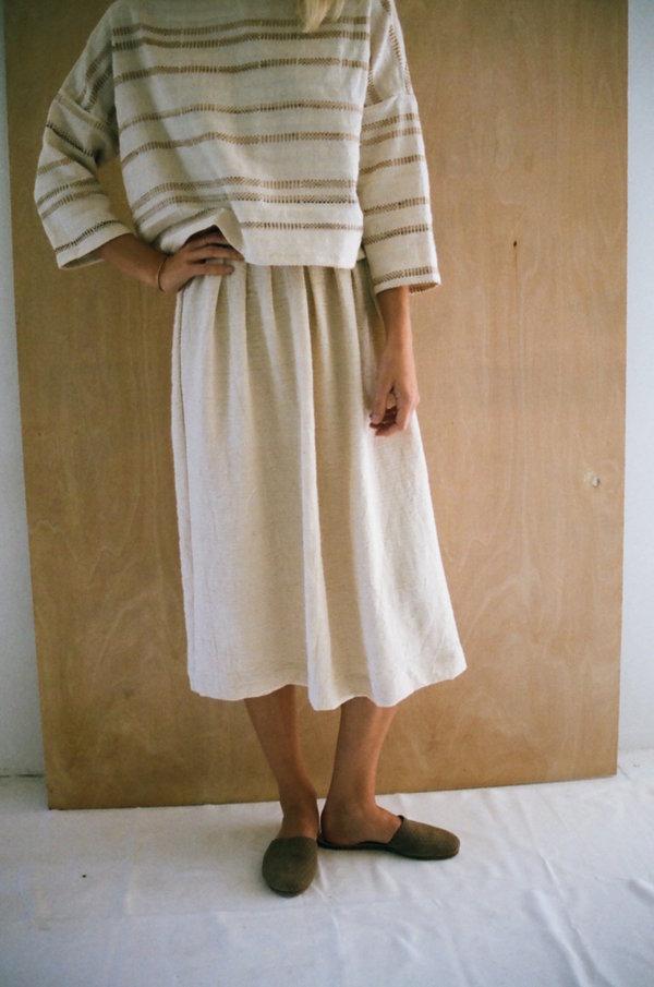 Han Starnes Pleated Skirt