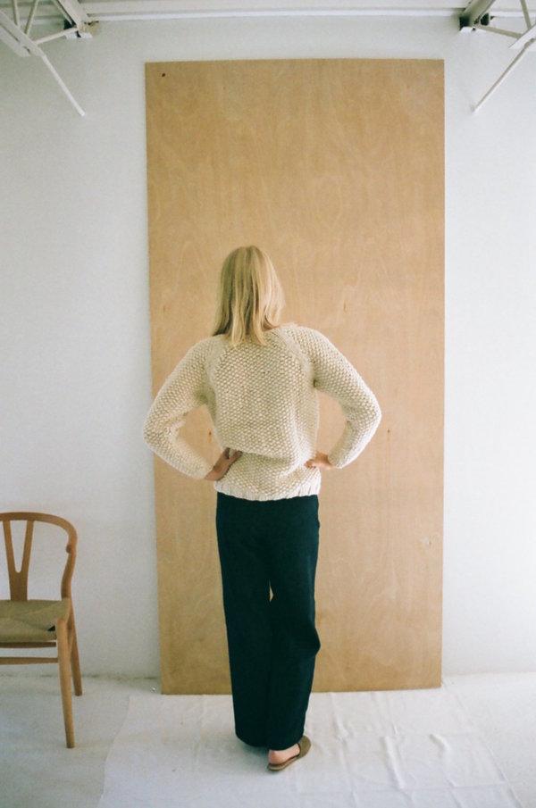 Han Starnes Andean Sweater - Cream