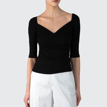 ATM Crossover Elbow Sleeve Top