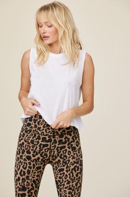 LnA Leopard Zipper Legging - Leopard