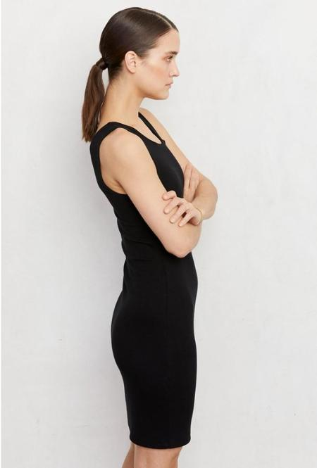 LnA Zinti Rib Dress - Black