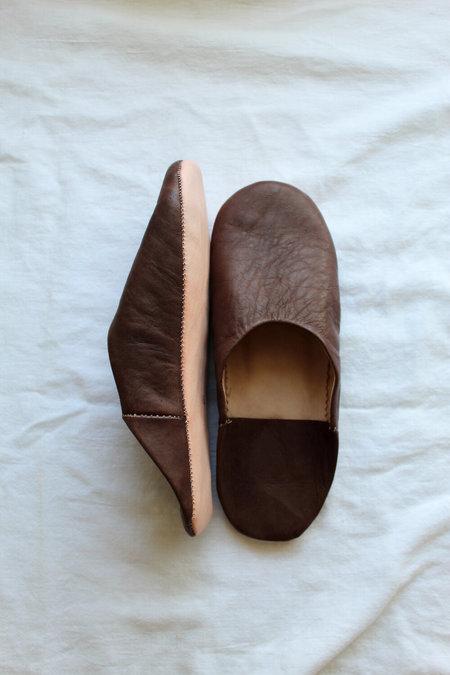 Ergo House Shoes - Brown