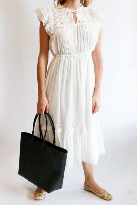 [Pre-loved] Ulla Johnson Ruffled Maxi Dress