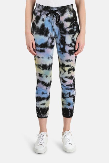 NSF Sayde Sweatpants - Obsidian Tie Dye