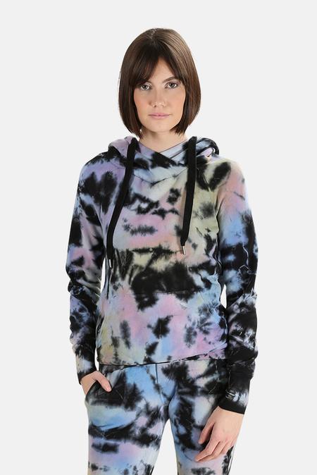 Blue&Cream NSF Lisse Hoodie Sweater - Obsidian Tie Dye