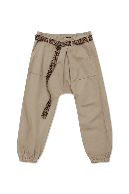 R13 Crossover Utility Drop Pant - Khaki