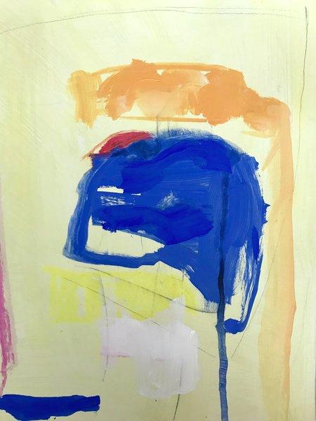 Genevieve Allen ON THE DOCK Painting