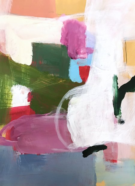Genevieve Allen ROPE SWING Painting
