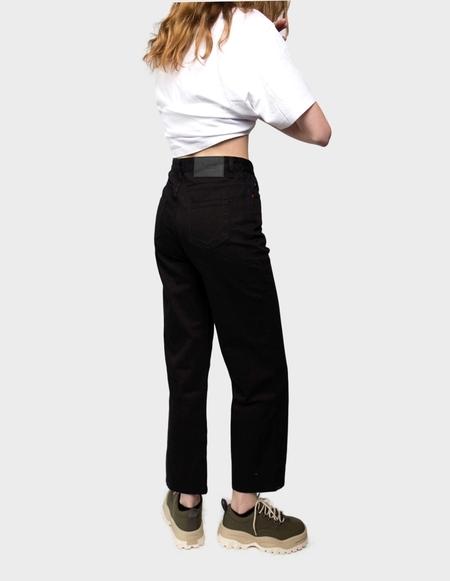 Han Kjøbenhavn Cropped Jeans - Black