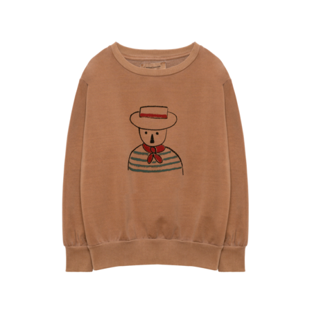Weekend House Kids Gondolier Sweat Shirt - Camel