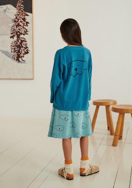 Weekend House Kids Herbert Long Sleeve - Turquoise