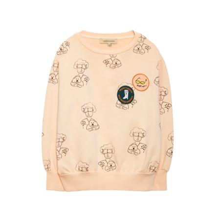 Weekend House Kids Peggy 3 Sweat Shirt - Peach