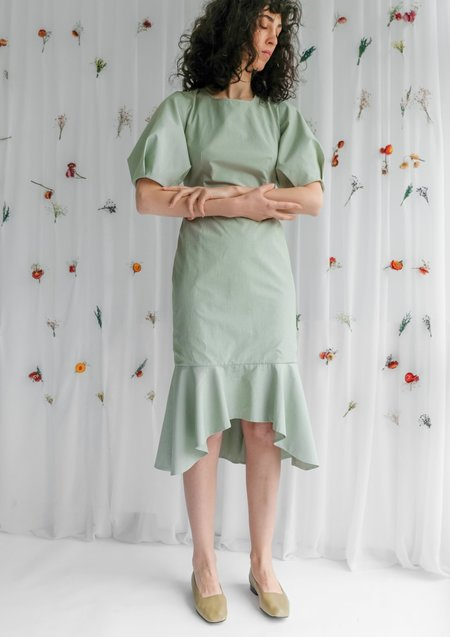 OhSevenDays Bloom Dress - Pistachio