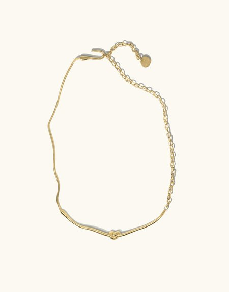 Cled Rope Hook Necklace