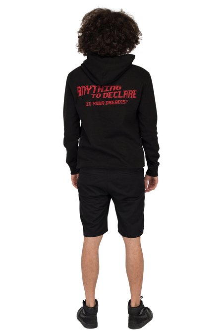 SUNSET SOLDIERS HOODIE HOSTESS - BLACK