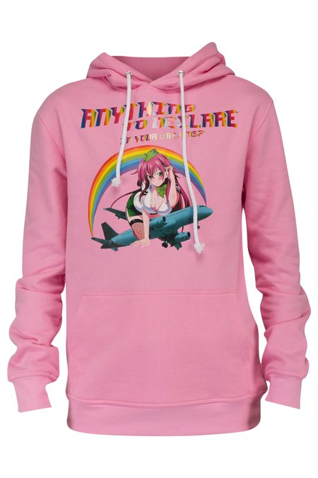 Sunset Soldiers Hostess Hoodie - Pink