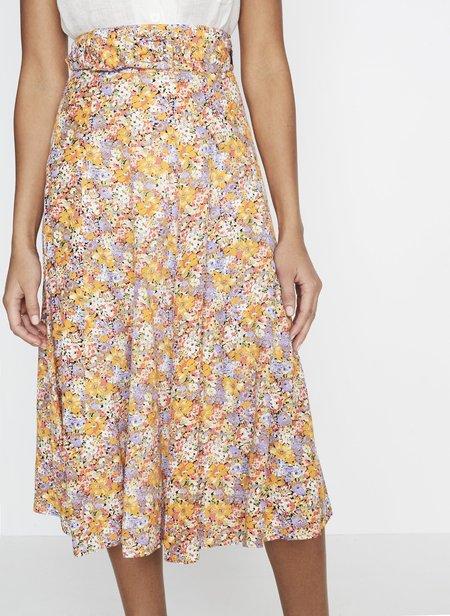 Faithfull The Brand Luda Midi Skirt - Meja Floral