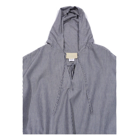 Anaak Sirsa Hooded Top - Navy Stripe