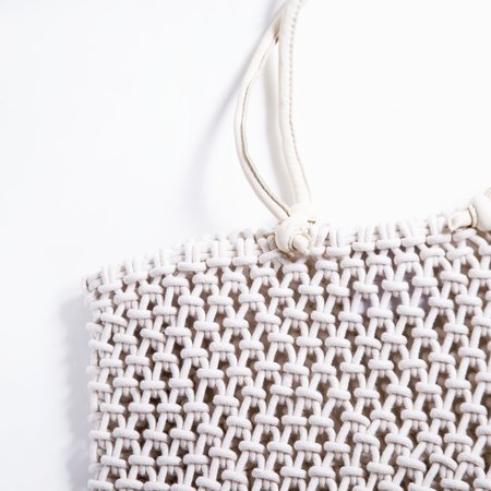 Clare V. Sandy Tote - Natural