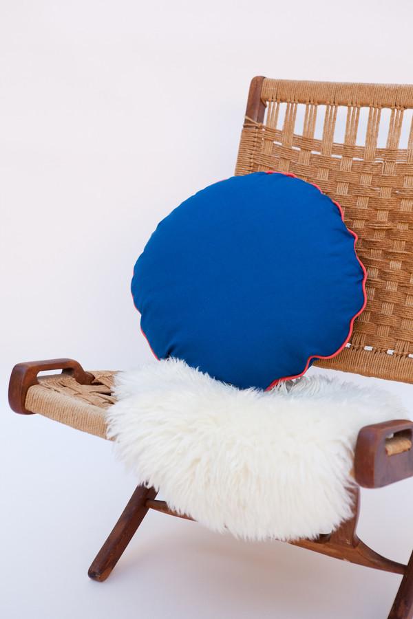 Lykke Wullf x Farron: Circle Linen Pillow