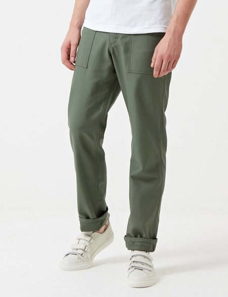 Stan Ray 4 Pocket Fatigue Pant with Loose Taper - Olive Green