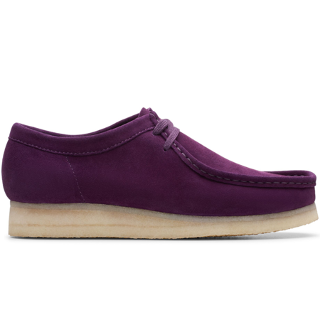 Clarks Wallabee Boot - Deep Purple
