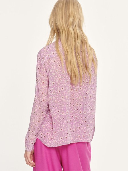 Samsoe & Samsoe Elmy Floral Shirt - Wisteria Purple