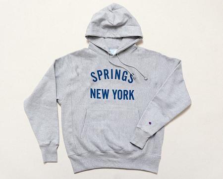 S&S Corner Shop Springs NY Hooded Sweatshirt