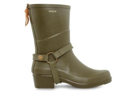 Aigle Miss Julie Boots - Khaki